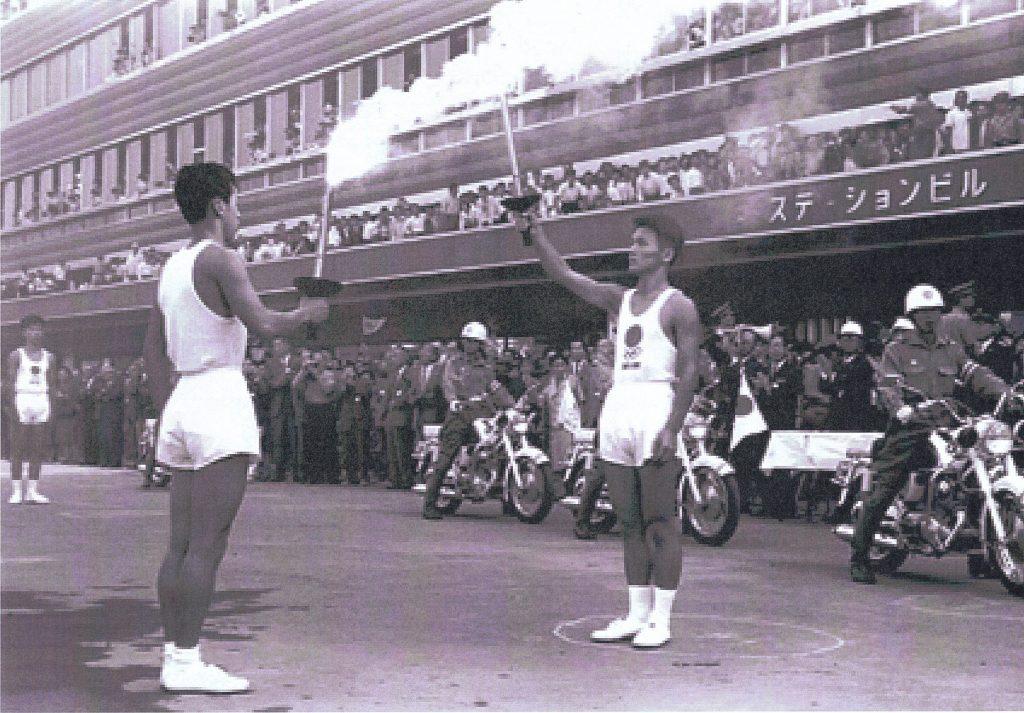 1970年聖火リレー(東京オリンピック)